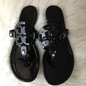 🖤Tory Burch Miller Medallion Patent leather🖤